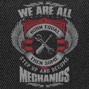 All are born equal mechanic - Snapback Cap