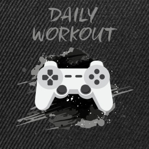 Video Game! Daily Workout! - Snapback cap