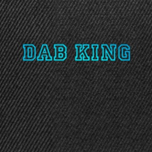 dab dabbing King Football touchdown cool fun sport - Snapback Cap