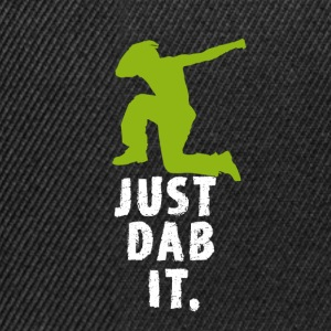 dab green man Dabbing touchdown Football fun cool - Snapback Cap