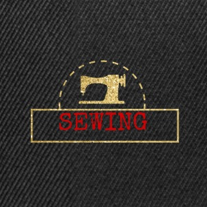 Sewing machine design - Snapback Cap