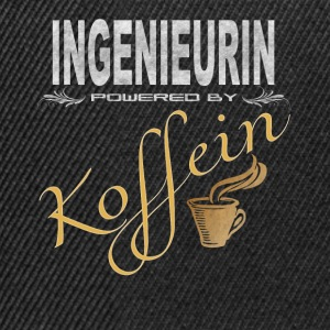 Ingenieurin powered by Koffein - Snapback Cap