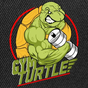 Gym Turtle Gym Design - Snapback Cap