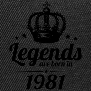 Legends 1981 - Snapback Cap