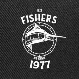 Present for fishers born in 1977 - Snapback Cap