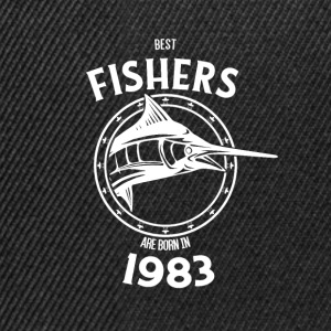 Present for fishers born in 1983 - Snapback Cap