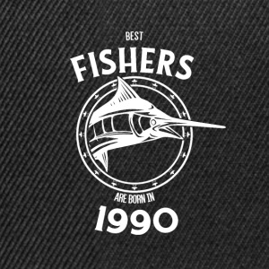 Present for fishers born in 1990 - Snapback Cap