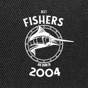 Present for fishers born in 2004 - Snapback Cap