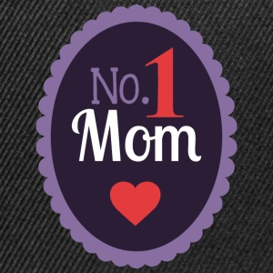 No 1 MOM - Snapback Cap