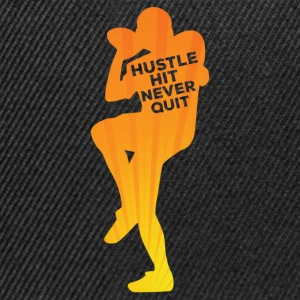 Football: Hustle hit Never Quit - Snapback Cap