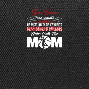Basketball mom - Snapback Cap
