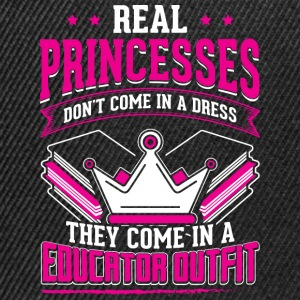REAL PRINCESSES educator - Snapback Cap