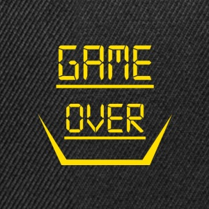 Game Over Design - Snapback Cap