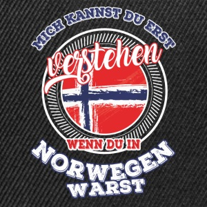 Understand - If you were in Norway - Snapback Cap