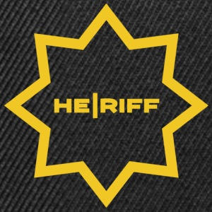 Sheriff guitar player sign for him. - Snapback Cap