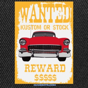 WANTED OU STOCK KUSTOM - cod: 1955ChevyBelAir - Casquette snapback