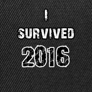 Survived 2016 - Snapback Cap