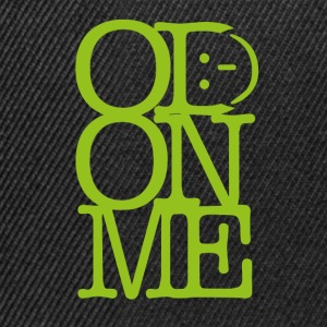 OD ON ME – Lime - Snapback Cap