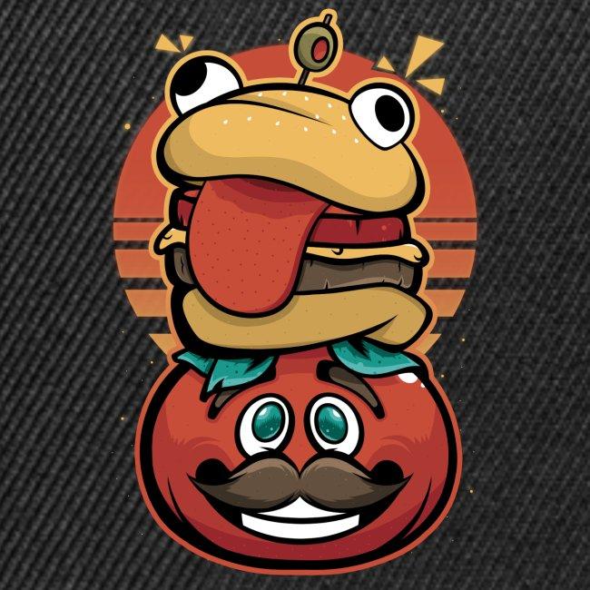 Hamburguesa con tomate