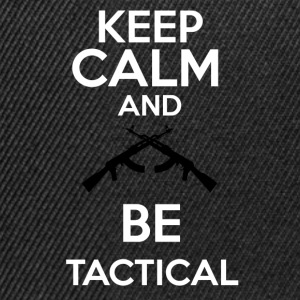 keepcalm and be tactical - Gorra Snapback
