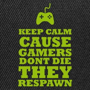 Gamers respawn - Snapback-caps