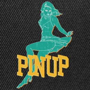 legging pinup sexy girl vintage - Snapback-caps