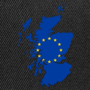 Scotland Map with EU Flag - Snapback Cap
