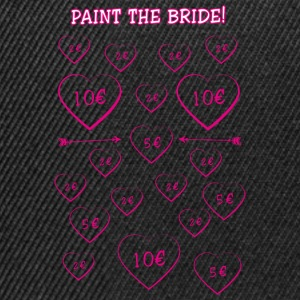 Paint the Bride! Junggesellinnenabschied! - Snapback Cap