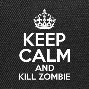 KEEP CALM AND KILL ZOMBIE - Snapback Cap