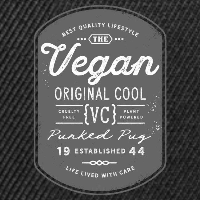 Vegan - The Original Cool Vintage Design