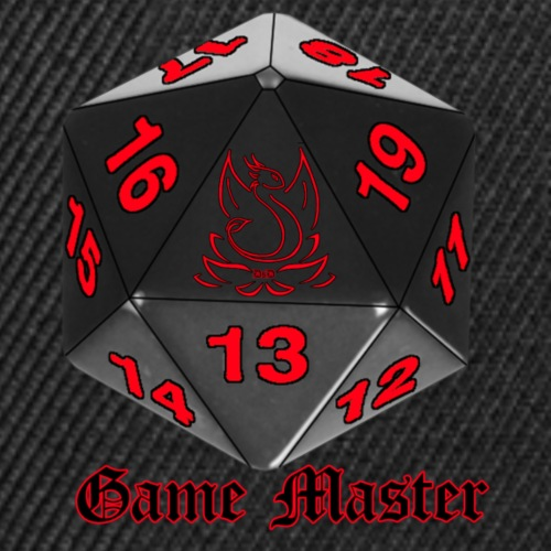 Game master red - Casquette snapback