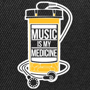 Music is my medicine - Snapback Cap
