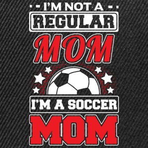 NOT A REGULAR MOM - SOCCER MOM - Snapback Cap