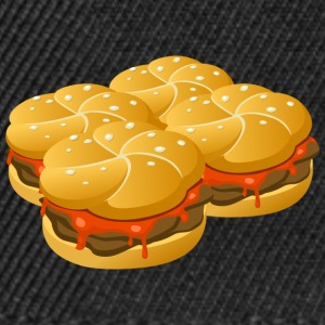 fire Hamburger - Snapback-caps