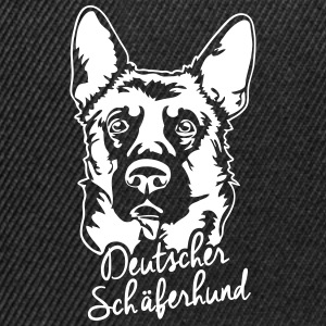 GERMAN SHEPHERD PORTRAIT - Snapback Cap