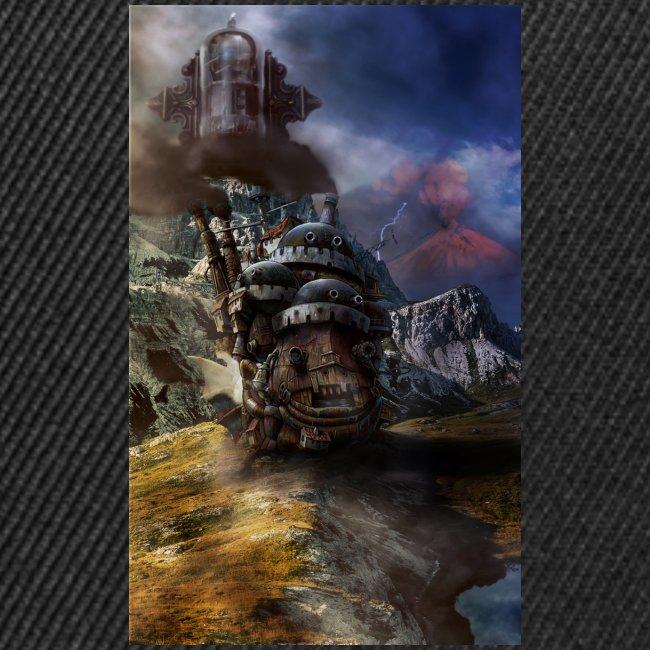 howl castle hd