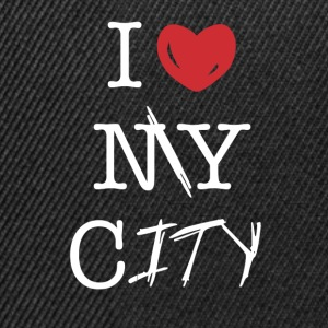 i love my city - Snapback Cap