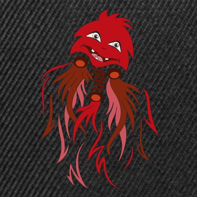 fantasma halloween rosso