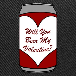 Will You Beer My Valentine? - Snapback Cap
