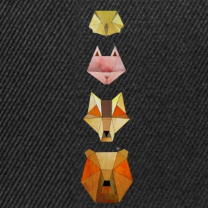 Geometri Forest Animals - Snapback Cap