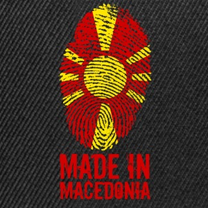 Made in Macedonia / Gemacht in Mazedonien - Snapback Cap