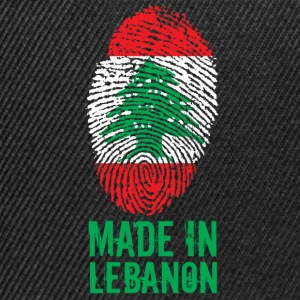 Fabriqué au Liban / Made in Lebanon اللبنانية - Casquette snapback