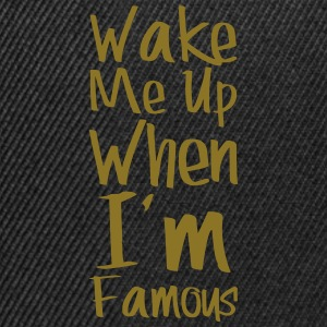 wake me famous - Casquette snapback