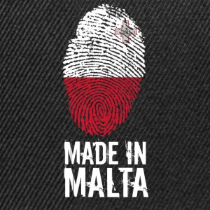 Made In Malta - Snapback Cap