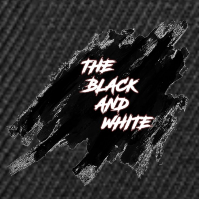 the black and white