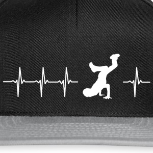 I love breakdancing - Snapback Cap