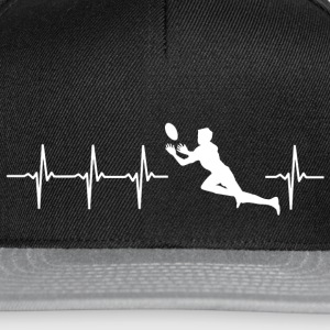 J'aime le rugby (rugby heartbeat) - Casquette snapback