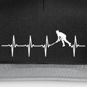 Your heart beats for hockey? - Snapback Cap