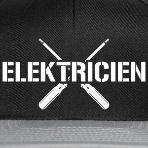 suchbegriff elektriker caps m tzen spreadshirt. Black Bedroom Furniture Sets. Home Design Ideas