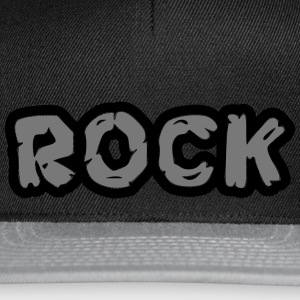 Rock Graffiti/Felsdesign - Snapback Cap